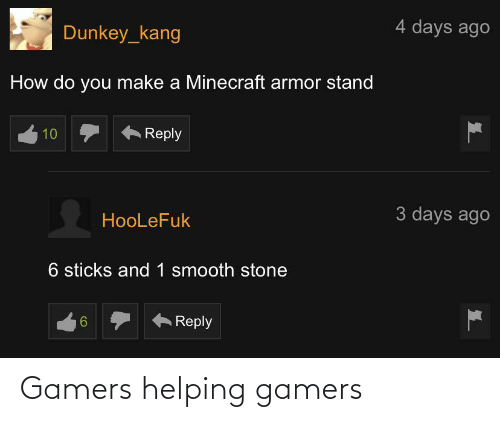 Helping and Gamers: Gamers helping gamers