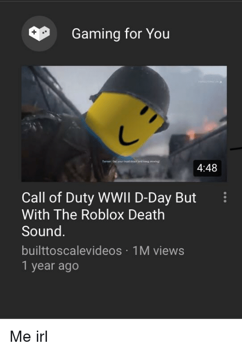 Gaming For You 448 Call Of Duty Wwil D Day But I With The Roblox