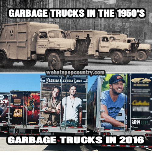 garbage trucks in the 1950s sanitation wehatepopcountry com line kicki dust 7943800 ✅ 25 best memes about 1950s 1950s memes