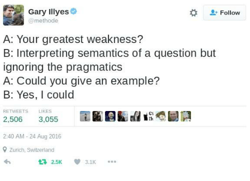 Gary Illyes Follow Methode a Your Greatest Weakness? B Interpreting ...