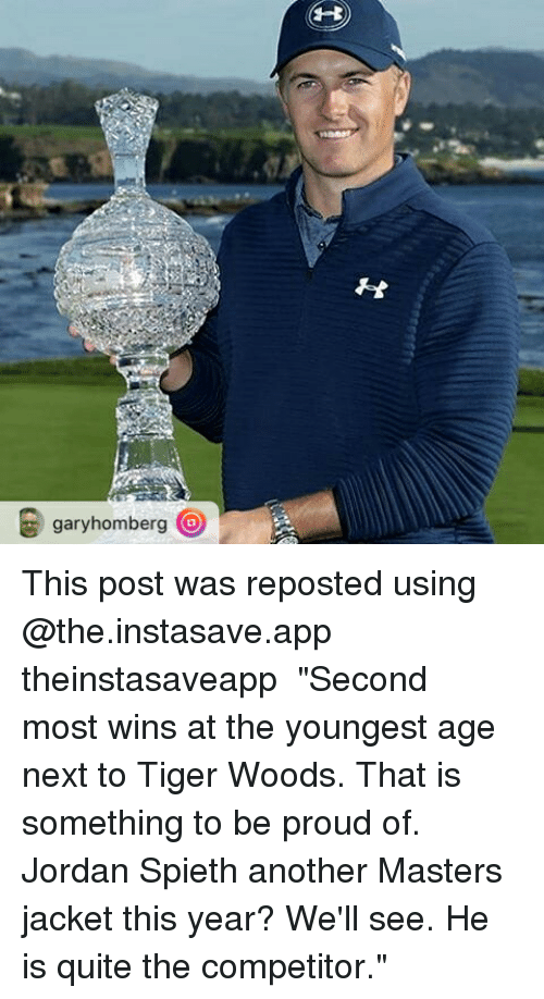 garyhomberg o this post was reposted using the instasave app theinstasaveapp %E3%83%BB%E3%83%BB%E3%83%BB 14425692 jordan spieth chokesin the final round blowsmasters memes wonder