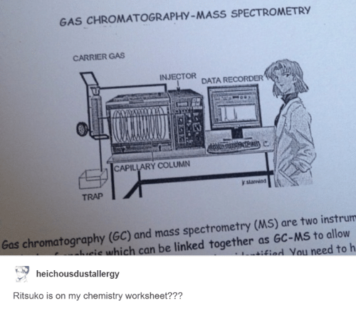 GAS CHROMATOGRAPHY-MASS SPECTROMETRY CARRIER GAS INJECTOR