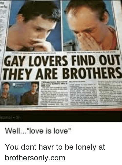 how to find gay love