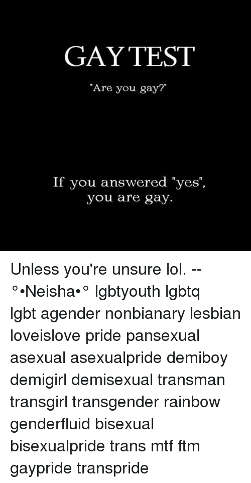 Are you bisexual test