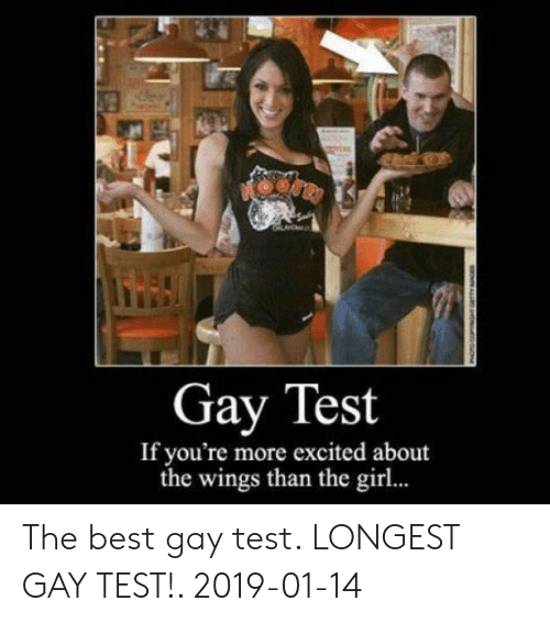 Test the gay Are You