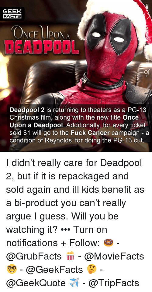 53356a30aeb7 GEEK FACTS NCE UPONAO DEADPOOL OC Deadpool 2 Is Returning to ...