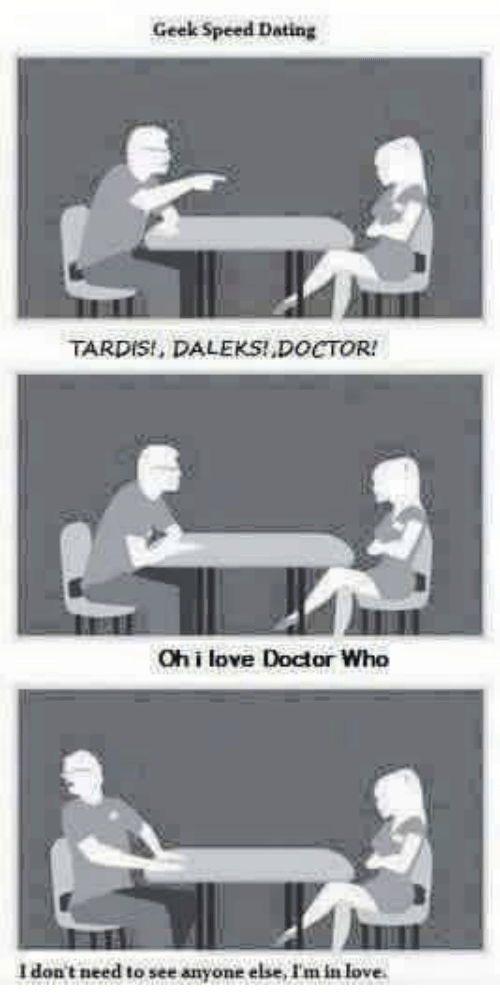 Doctor speed dating