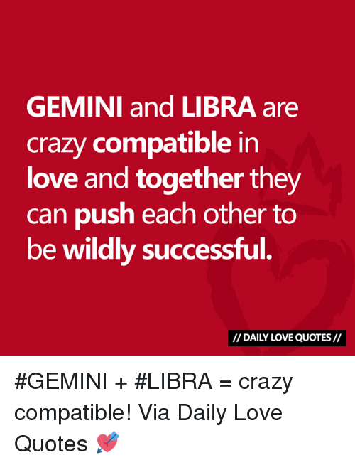 compatibility with gemini and libra relationship
