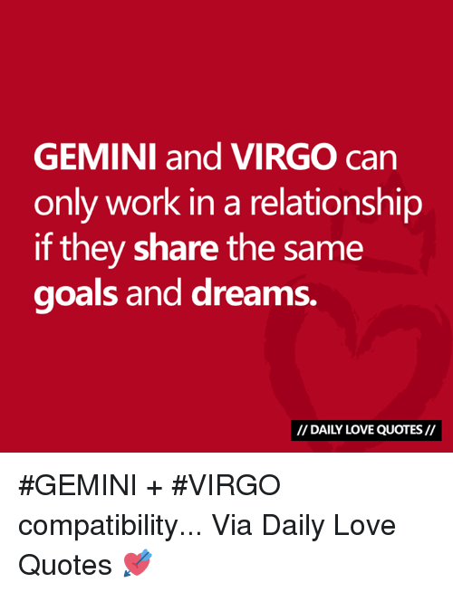 gemini dating virgo