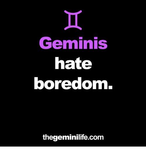 Geminis hate why everyone does Why does