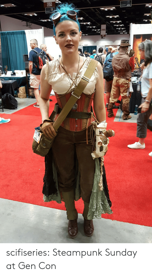 Tumblr, Blog, and Http: GEN  2900 scifiseries:  Steampunk Sunday at Gen Con