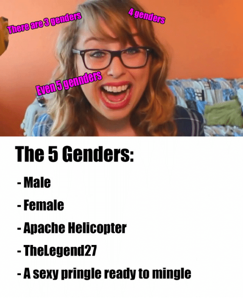 genders there are genders the 5 genders male female apache 13932806 ✅ 25 best memes about laci green sex laci green sex memes,Laci Green Meme