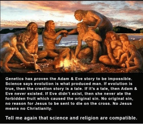 reconciliation between science and religion is impossible Therefore, a science vs religion reconciliation theory to resolve inconsistencies between science and religion impossible to prove.