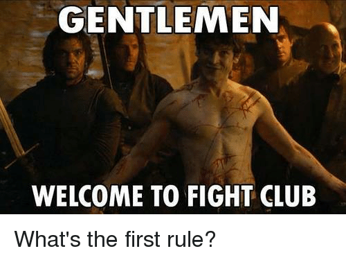 Image result for Fight Club meme