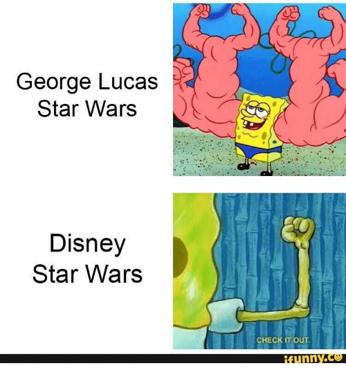 Disney, Star Wars, and Star: George Lucas  Star Wars  Disney  Star Wars  CHECK IT OUT  ifynny.co