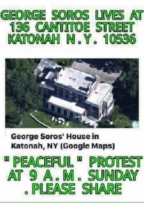 GEORGE SOROS UMES AT 136 CANTUTTOE STREET KATONAH N Y 10536 ... on marshall map, lafayette map, lipscomb map, mercer map, austin peay map, xavier map,