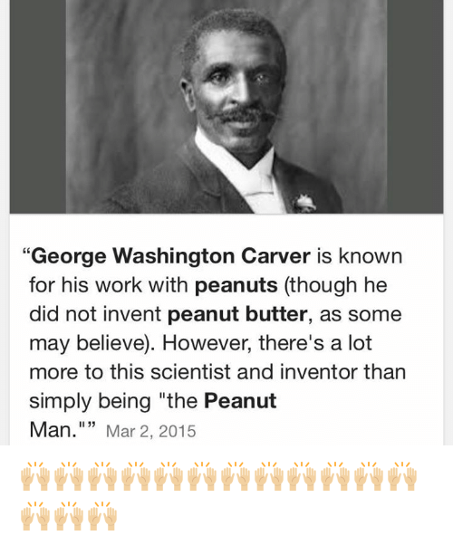 Did a black man invent peanut butter