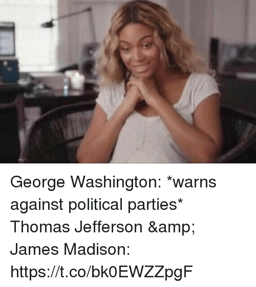 84 best Proud To Be a Republican images on Pinterest ...  |George Washington Warning Against Parties