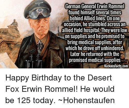 german general erwin rommel found himself several times behind allied 6574389 german general erwin rommel found himself several times behind