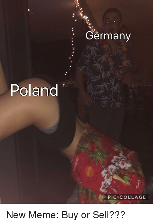 Meme, Collage, and Germany: Germany  Poland  PIC.COLLAGE