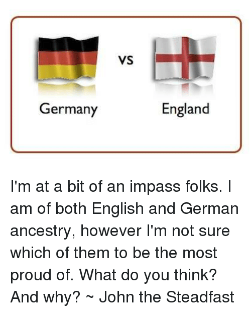 Germany Vs England