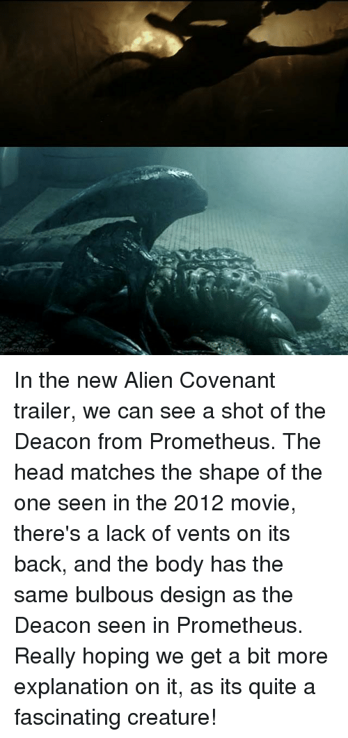 Gestfole Corn in the New Alien Covenant Trailer We Can See a