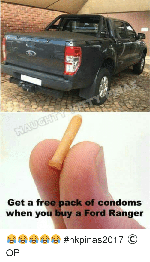 Get A Free Pack Of Condoms When You Buy A Ford Ranger