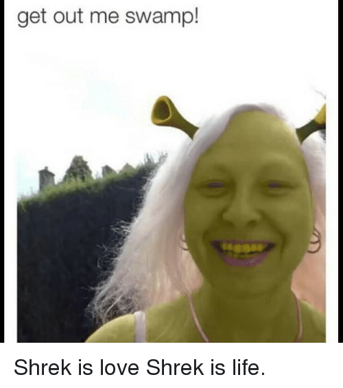 Get out of me swamp