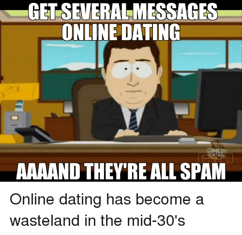 online dating 30s