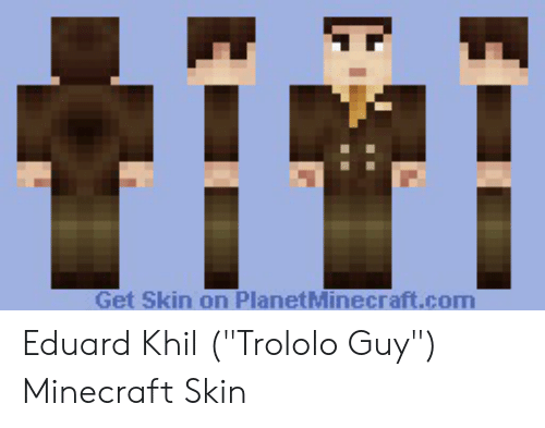 eaf2b83b66364 Minecraft, Com, and Skin: Get Skin on PlanetMinecraft.com Eduard Khil (