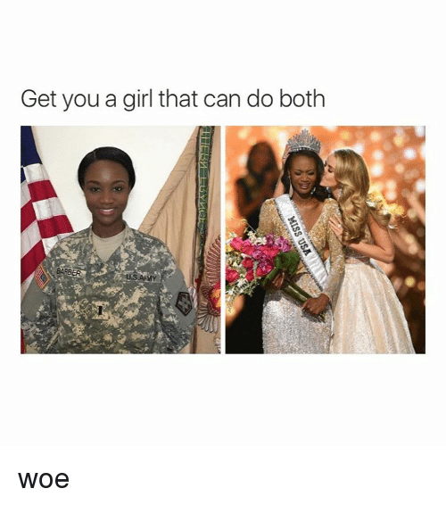 Get You A Girl That Can Do Both