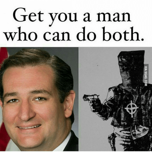 Get You A Man Who Can Do Both Via 9gag Com 9336818 on The Zodiac Killer