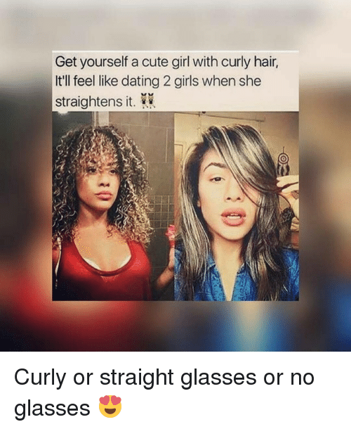 Curly hair dating