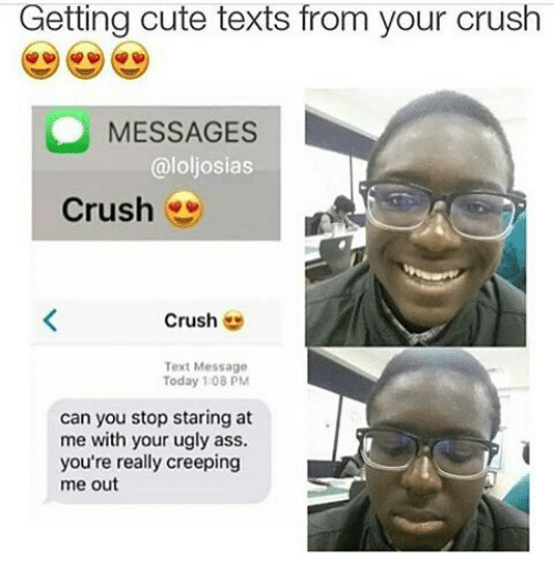 cute text for crush