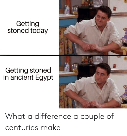 Getting Stoned Today Getting Stoned in Ancient Egypt What a