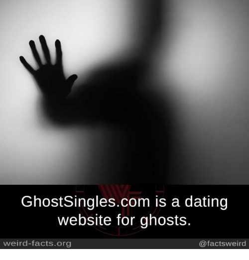 GhostSingles Is A Dating Website For Ghosts
