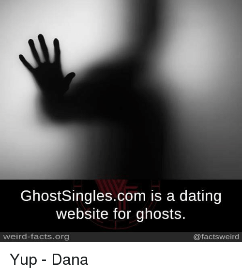 Ghosts dating website