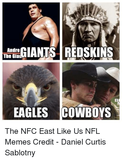 giants redskins andre the giak eagles cowboys the nfc east 19197623 ✅ 25 best memes about nfc east nfc east memes