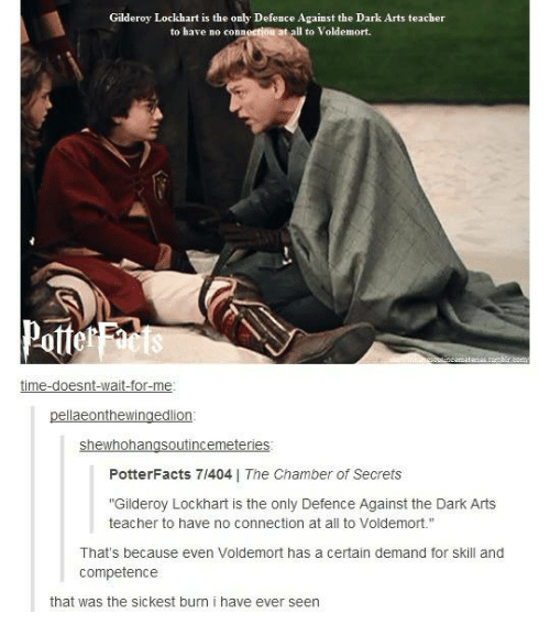 Gilderoy Lockhart Is The Only Defence Against The Dark Arts