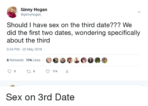 Do you have to have sex on a 3rd date