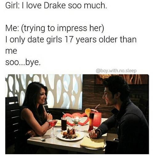 How To Impress A Girl Older Than You