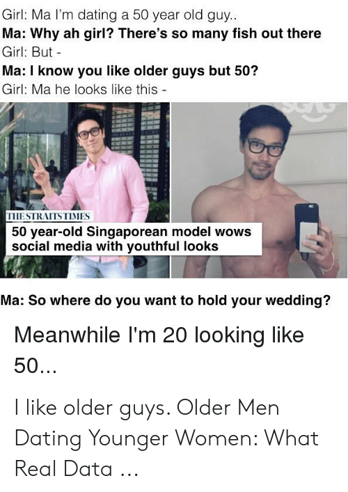 What a 50 year old man wants