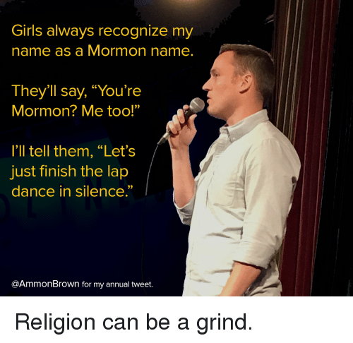 Atheist dating a mormon girl