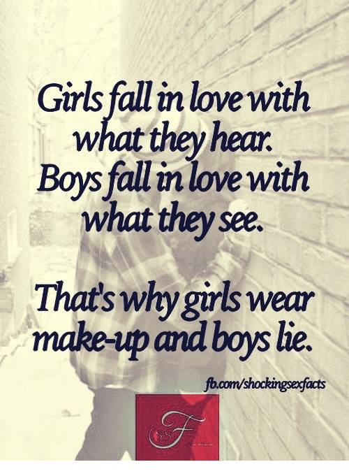 Facts about girls in love