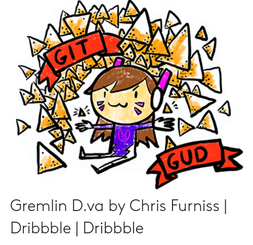 GIT 1GUD Gremlin Dva by Chris Furniss | Dribbble | Dribbble