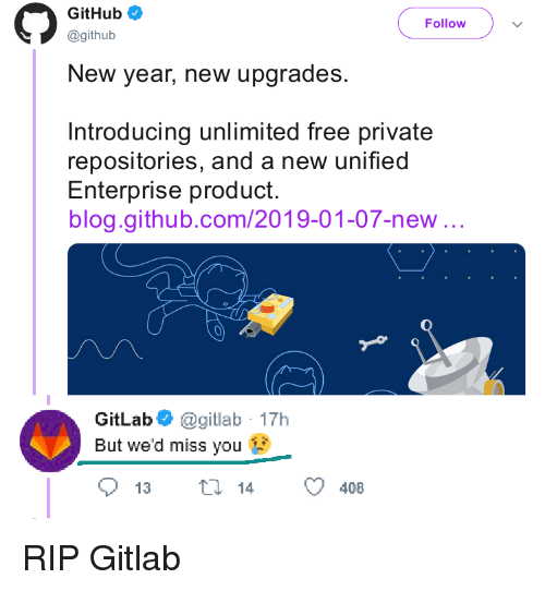 GitHub Follow New Year New Upgrades Introducing Unlimited