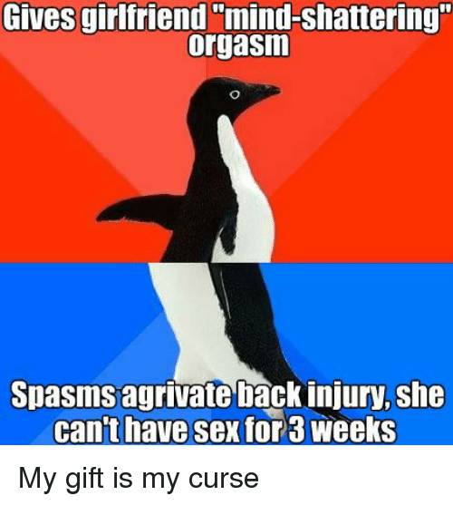 Apologise, why cant i have an orgasm impossible