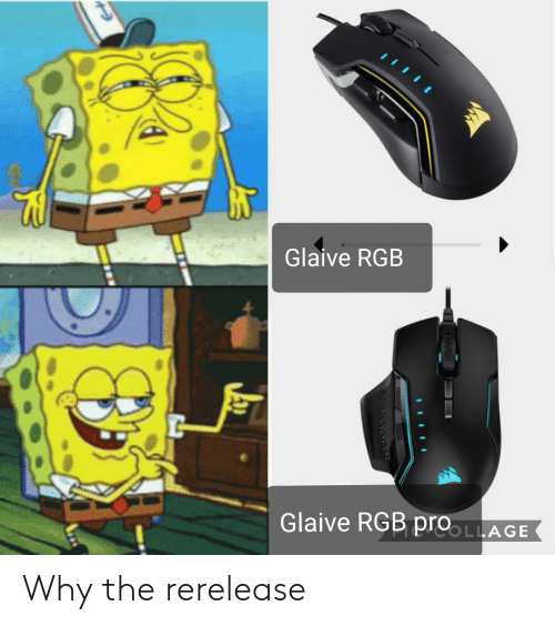 Glaive RGB Glaive RGB proLLAGE Why the Rerelease | Why Meme