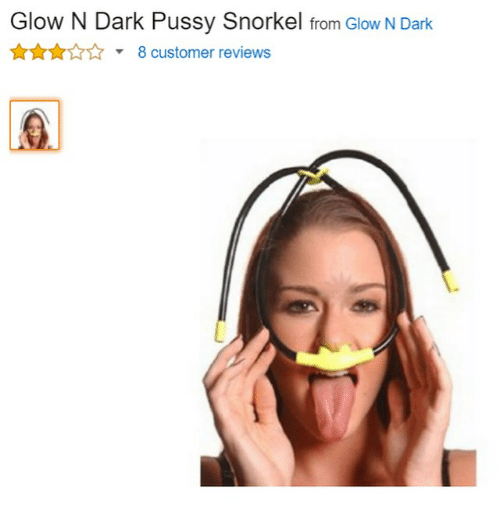 Pussy eating snorkel