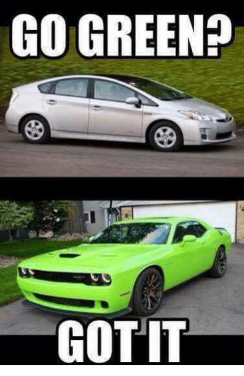 Guys Who Drive Muscle Cars